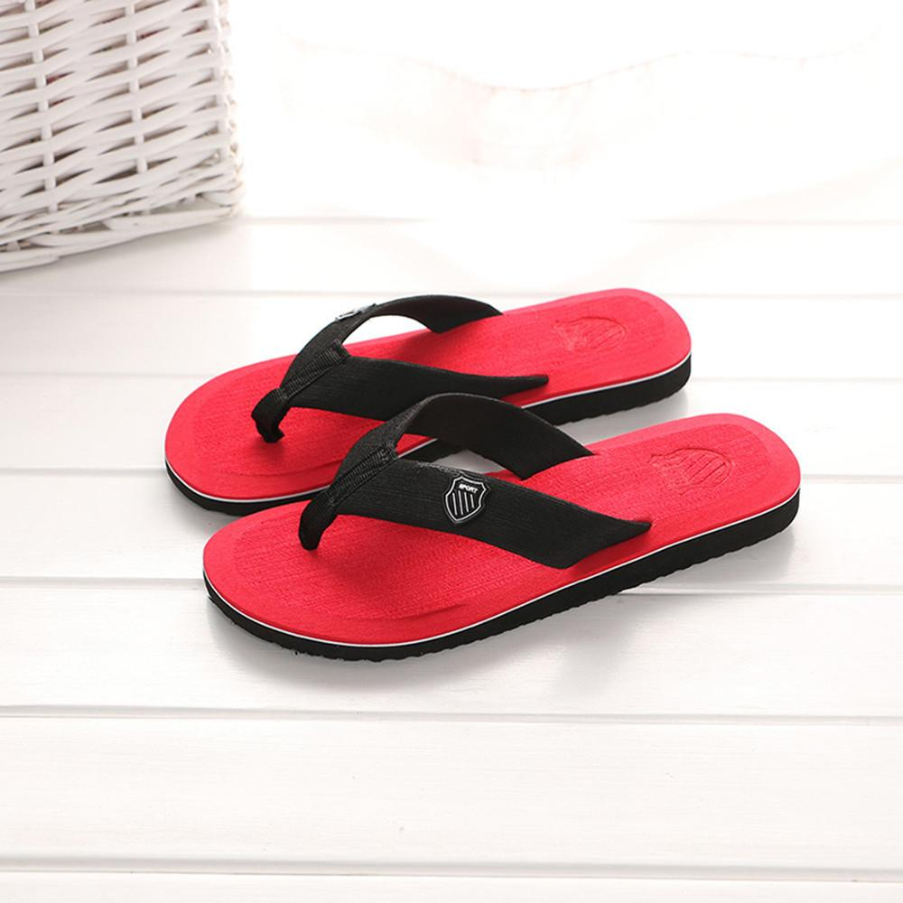 Uomo Estate Flip-flop da bagno dei pistoni di estate Infraditi indoor Casual Shoes Outdoor Scarpe Uomo casa Slippery luce # 20