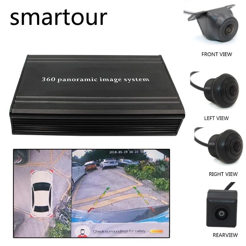 360 Surround-Beobachtungssystem 4 HD Kamera HD Auto DVR 2D Parkplatz assist360 Recorder Fahr