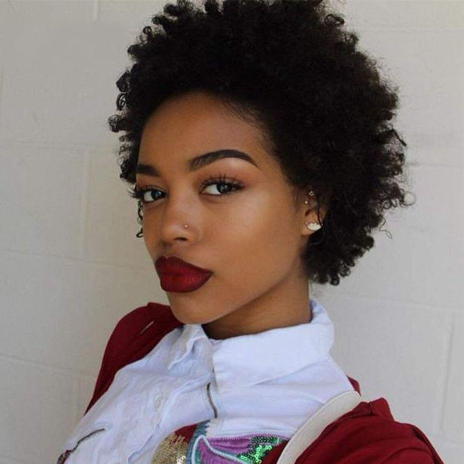 Malaysian Virgin Human Hair Kinky Curly Lace Front Wigs for Black Women 130% Density Pre Plucked Lace Wigs Natural Hairline