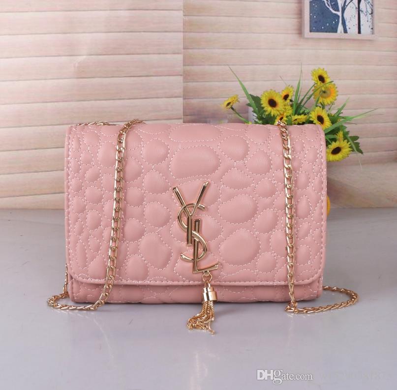 2020 neue heiße Verkaufs-Mode-Hand Frauen-Kette Schultertaschen neuen Handtaschen Wallets Frau Ledertasche