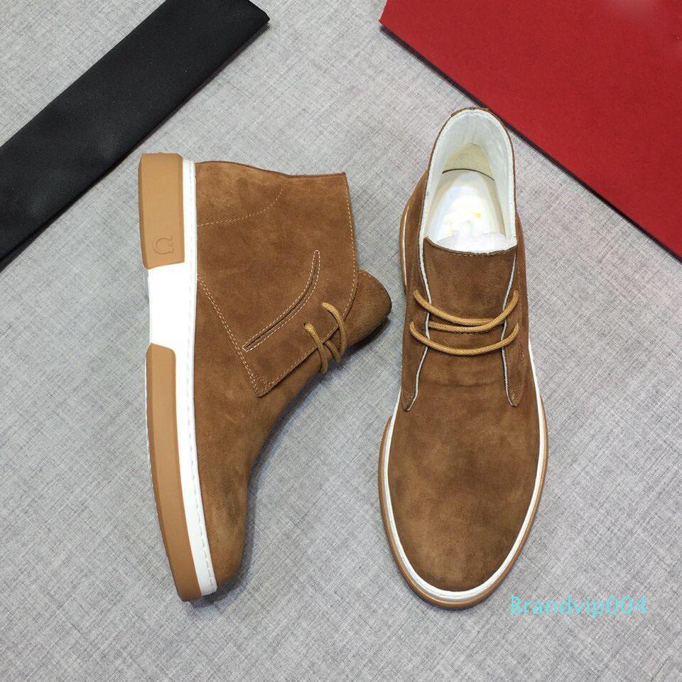 новый осенне-зимний стиль мода роскошный дизайнер мужская обувь кожаный материал мужская повседневная обувь платформа мужские мокасины спортивная обувь 0