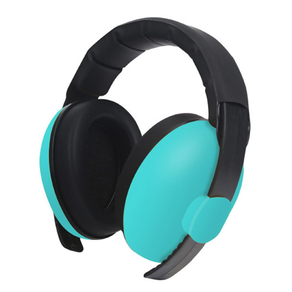 Slow Rebound Ergonomic Kids Concert Safety Light Weight Ear Hearing Protection Noise Cancelling Sound Adjustable Baby Earmuffs