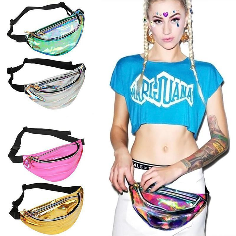 Fashionably Waterproof Waist Bag Large Capacity Waist Bag with Adjustable Strap Perfect for Jogging Shopping Walking