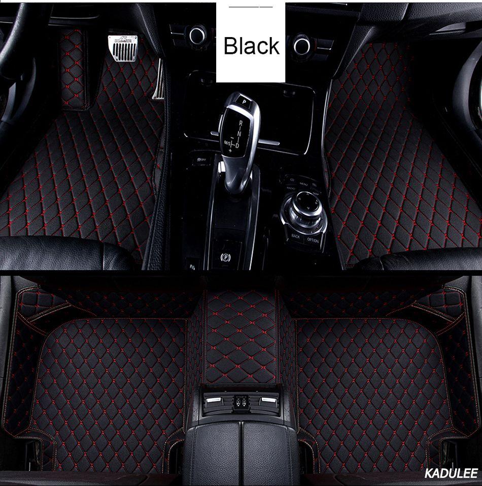 Custom Car Floor Foot Mat for Dodge Journey Caliber Avenger Challenger Charger Waterproof Auto Accessories