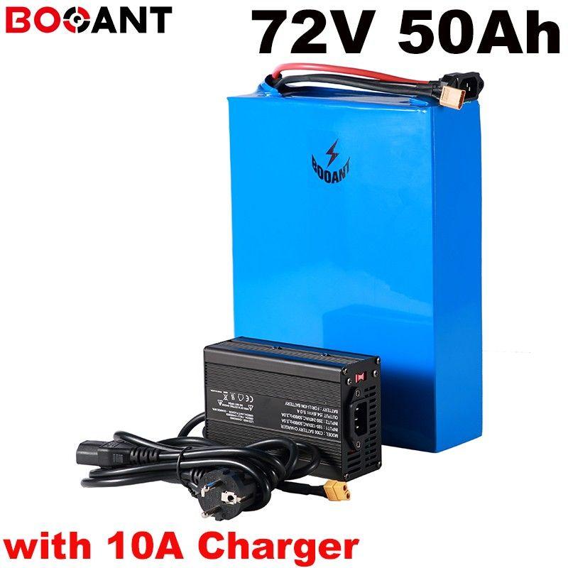 Com 10A 72 v 50ah carregador bicicleta elétrica bateria für Samsung ICR18650-30B 72 celular w 5000 v recarregável de lítio bateria