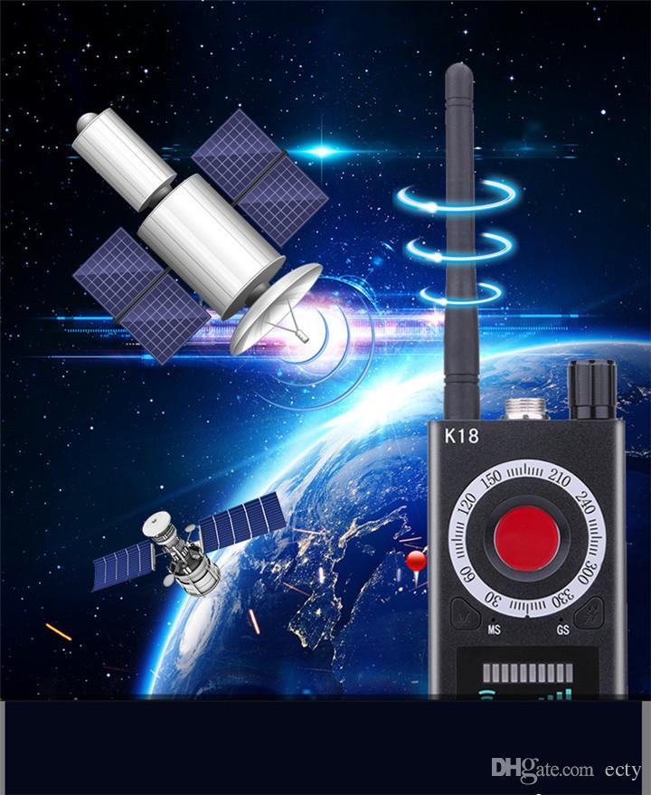 2019 New Portable 1MHz 6 5GHz K18 Wireless Meter Counter Anti Mini Camera  Scanner RF Signal Detector For Personal Home Security Applications From