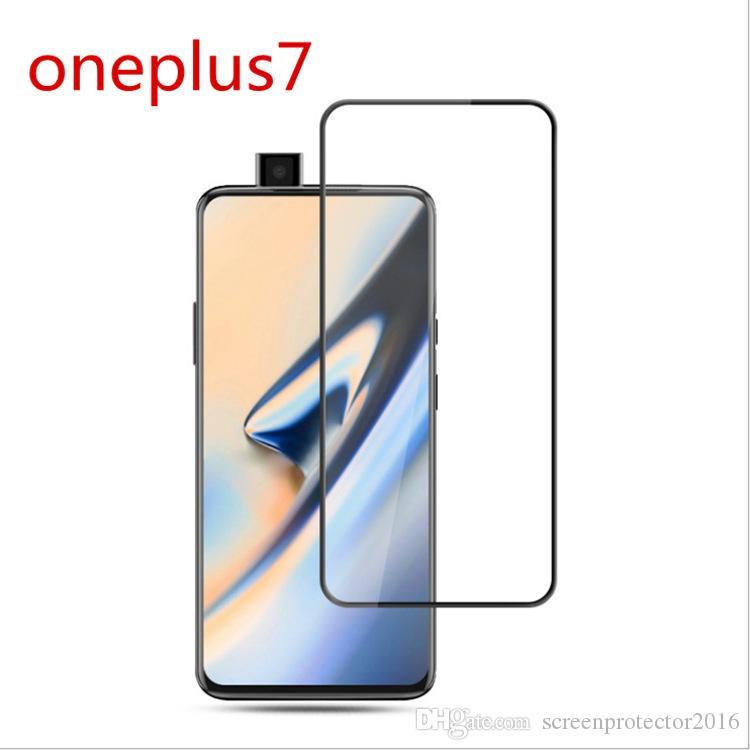 Для Oneplus 7/ 6T закаленное стекло протектор экрана один плюс 5 5T три Oneplus 5 5T полное покрытие 9H 2.5 D ультра тонкий защитная пленка гвардии