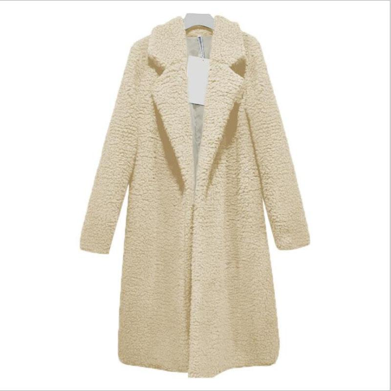 الصلبة تيدي معطف الشتاء معطف المرأة طويلة الصوف المعاطف والسترات manteau فام hiver abrigos موهير elegante cappotto دونا WT026