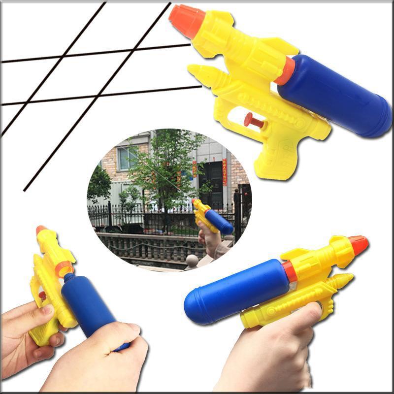 Лето Дети Игры на улице водяной пистолет Игрушки Детские Интересный Пляж Спрей игрушки бутылки выстрел воды Infusion Gun