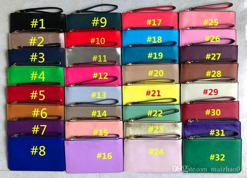 Модный кошелек из искусственной кожи на молнии кошельки сцепления женские девушки держатель карты модный дизайн монет кошелек денежные сумки открытый кошелек 32 цвет рождества