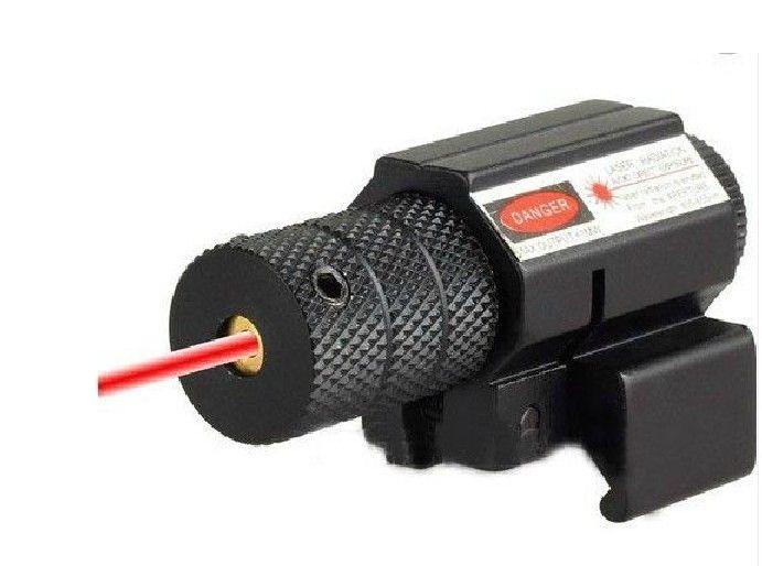 2 Pcs / Lot Tactique Rouge Laser Lazer faisceau Dot Sight Portée w / Mont Gun Fusil Pistolet chasse