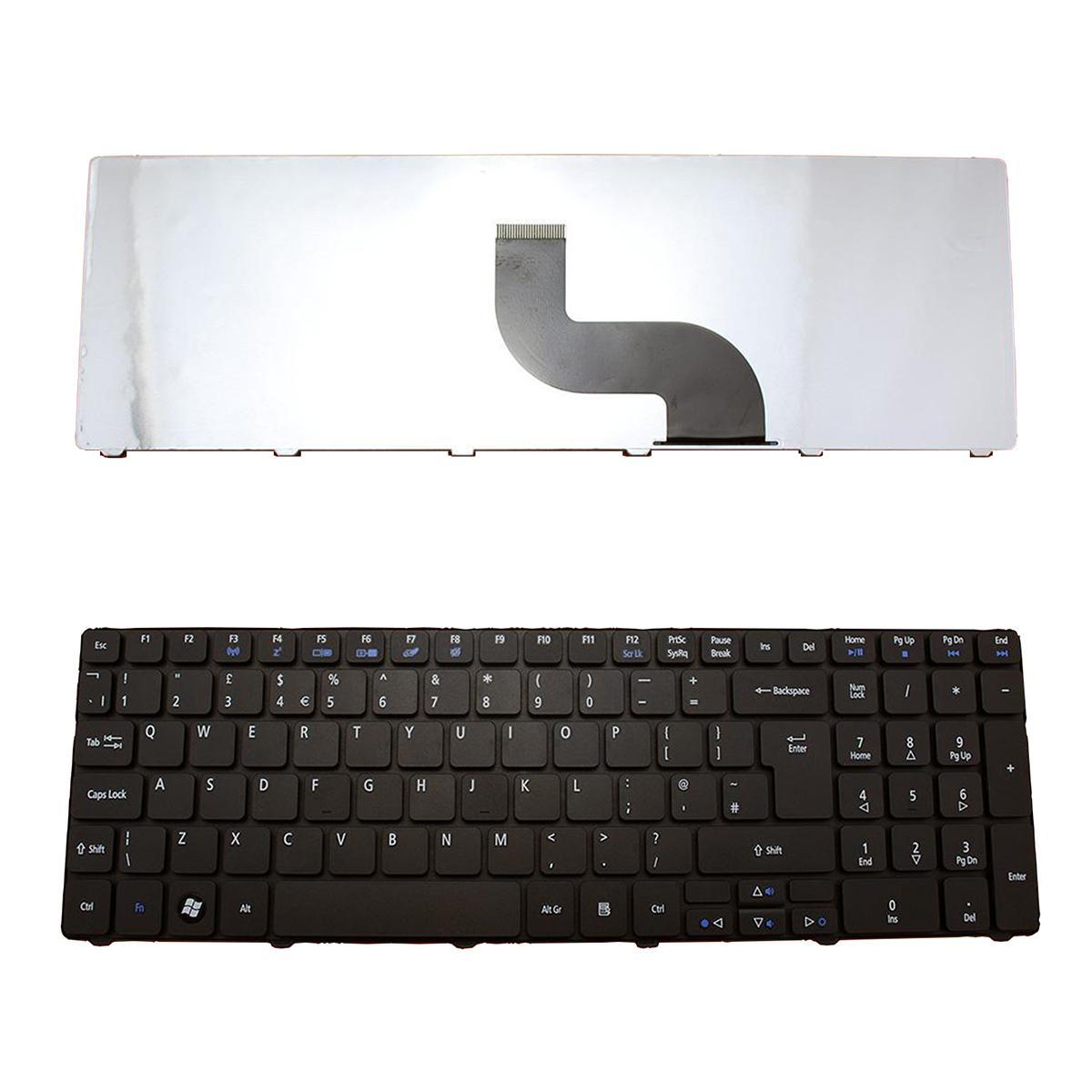 Novo teclado Para Acer Aspire 5810T 5536G 5738Z 5810 5739 5338 5410t 5538 5542 5538G 5542G 7560 7560G 7739 5625G teclado layout de Reino Unido