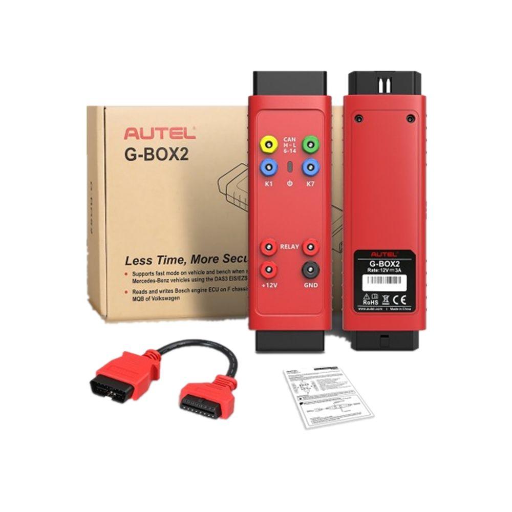 100% Autel originale G BOX2 strumento forMercedes forBenz tutta la chiave persa Lavora con Autel MaxiIM IM608 / IM508