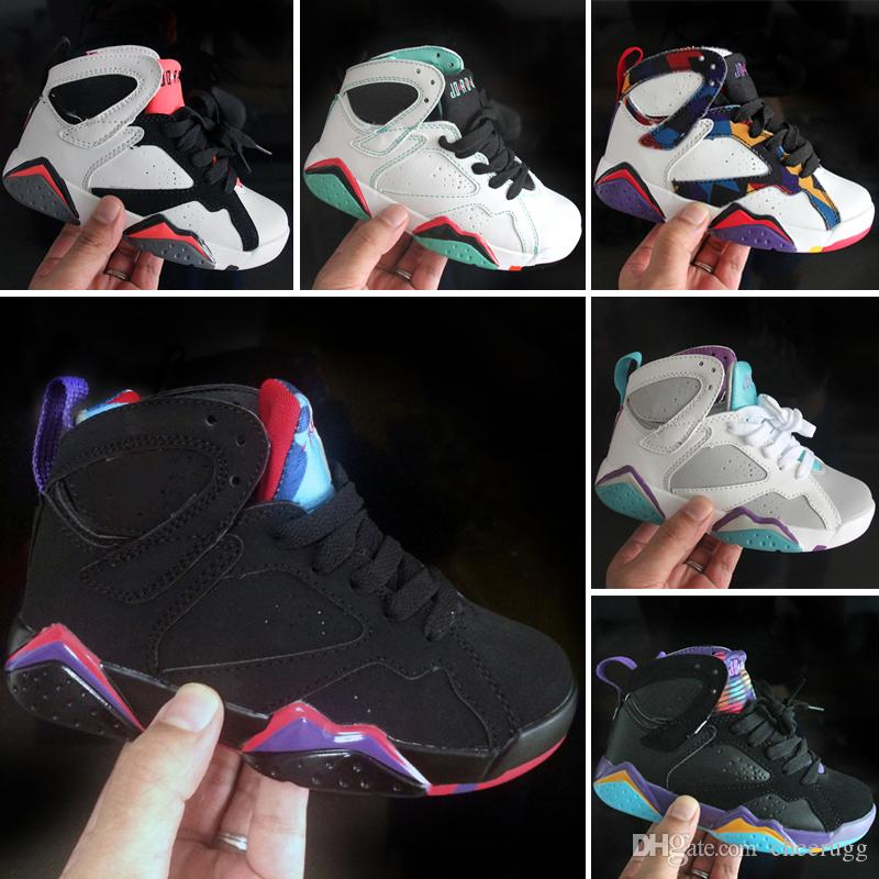 compre nike air jordan 7 boy girl 7s zapatillas de baloncesto