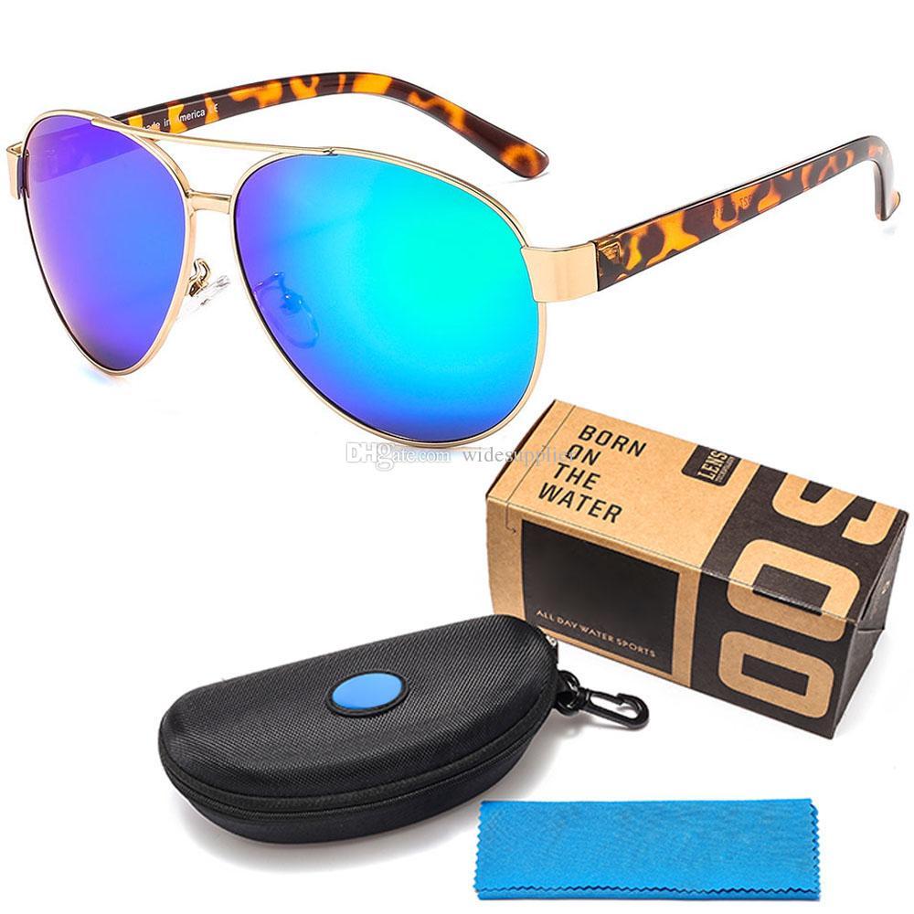 브랜드 핫 럭셔리 명품 선글라스 높은 품질 낚시 남성 여성 서핑 금속 태양 안경 선글라스 남자 TR90 편광 선글라스