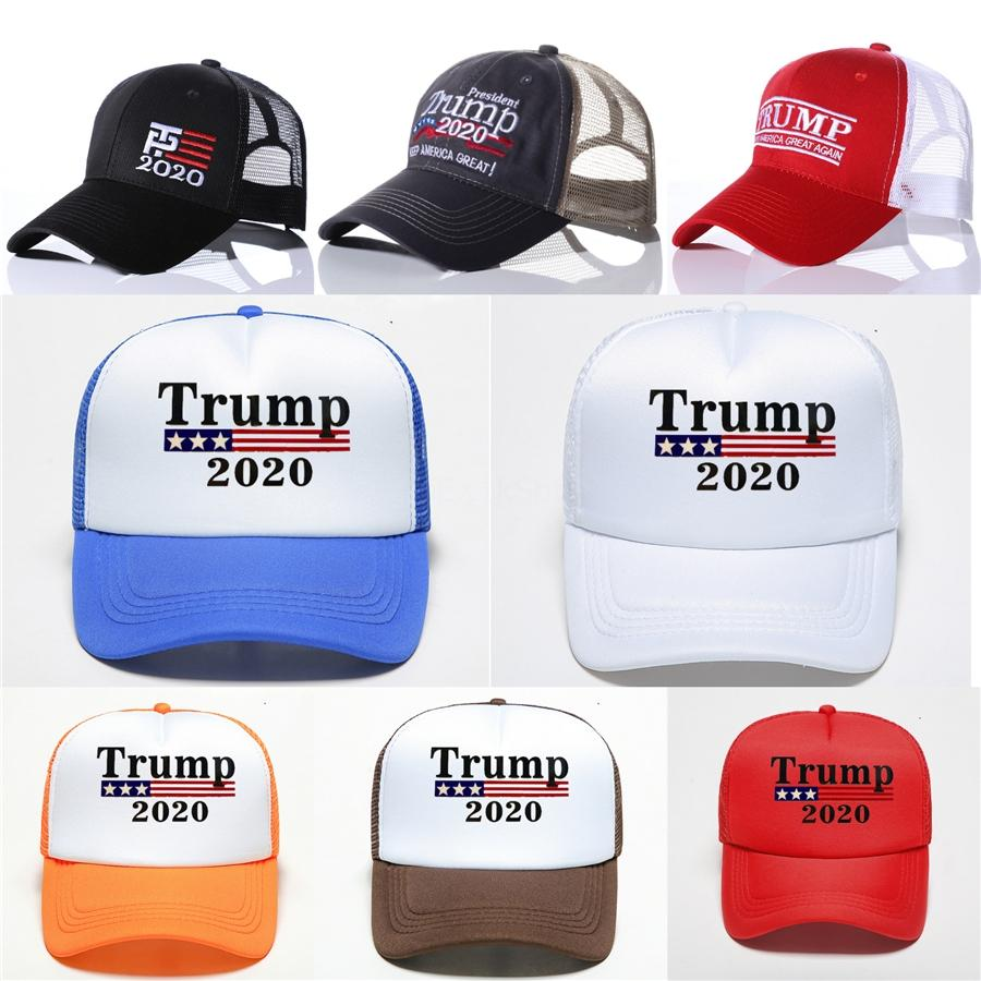 2019 Hot vendas Donald Trump 2020 boné de beisebol fazer América Great Again chapéu bordado Mantenha América Grande chapéu republicano Trump Caps # 267