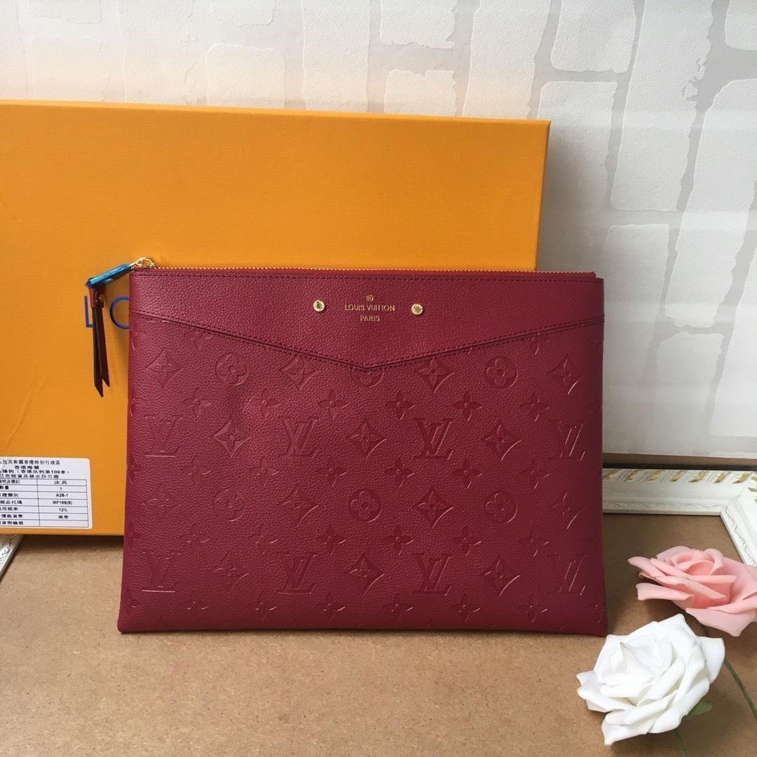 2020 Бизнес сумки высокого качества сумка на молнии сцепления Простой и модные кошельки женщин