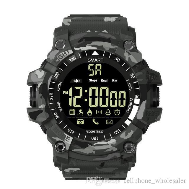 EX16 Plus Sport Smart Watch 5ATM wasserdichte Aktivität Tracker Bluetooth Schrittzähler Smartwatch für Android IOS Telefon Wartch relogio inteligente