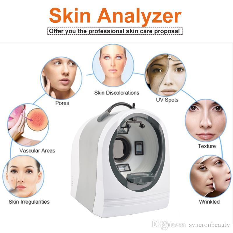 وجه الجلد تحليل آلة الجمال M8000 للاختبار / تحليل / قياس تحليل الجلد جهاز