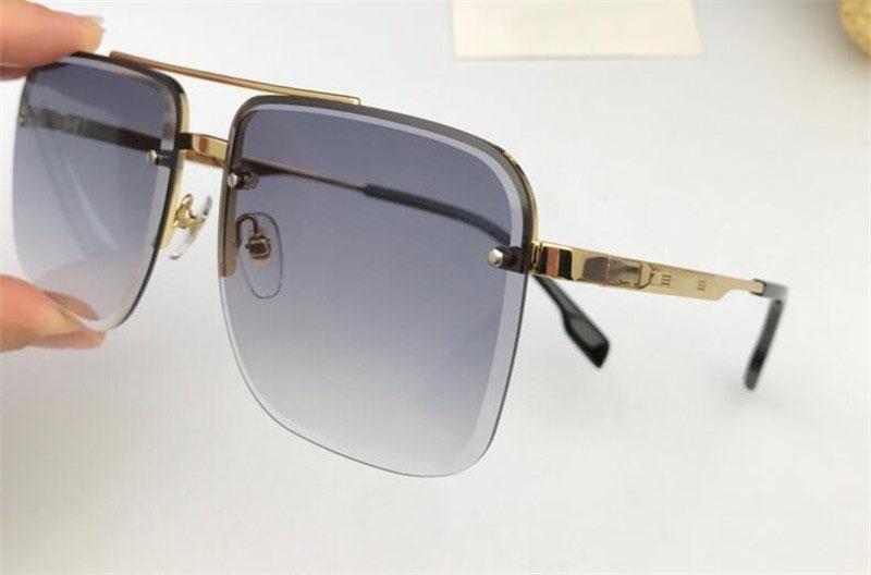 Novo designer de moda óculos de sol 6041 quadro quadrado estilo de venda popular uv400 lens top qualidade proteção eyew estilo clássico