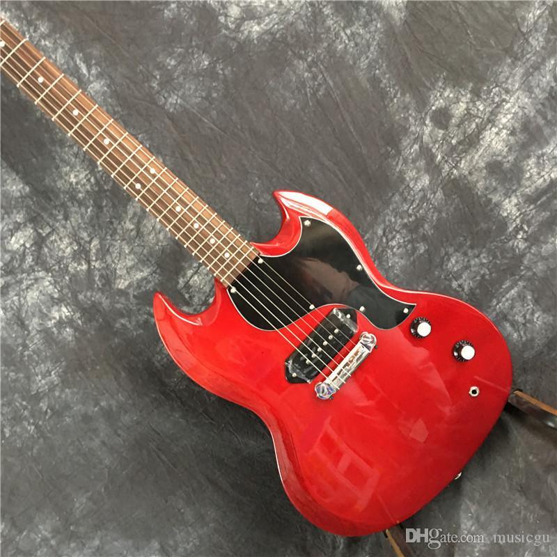 Vendita calda G-Custom Shop 6 corde negozio di elevato standard qualitativo sg 400 chitarra elettrica rossa