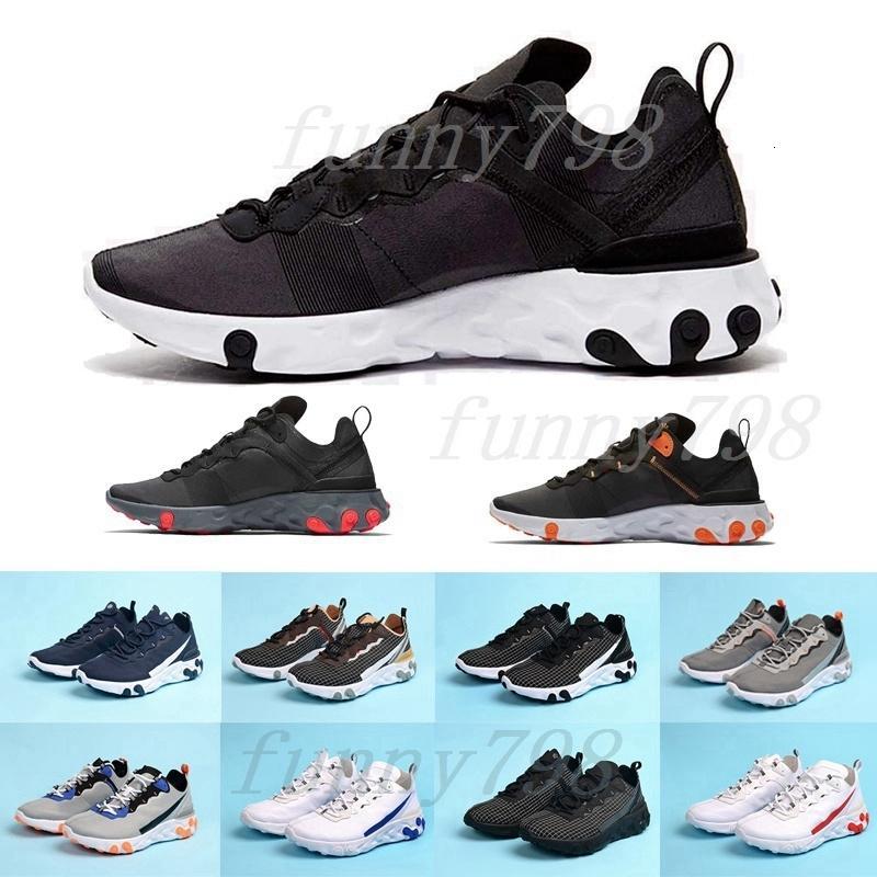 2019 Chaussure iyi erkek eğitmenler Eleman 55 Undercover X Yaklaşan tasarımcı spor ayakkabıları erkekler kadınlar Sneakers ayakkabı Tepki