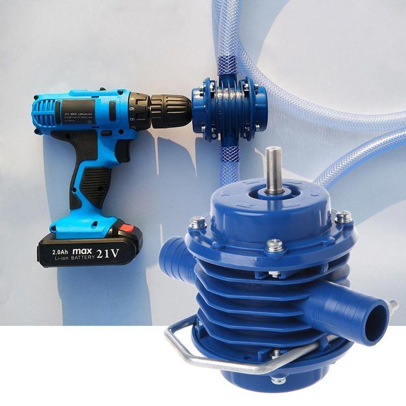 2019Neue selbstansaugende Hochleistungshandbohrmaschine Wasserpumpe Hausgarten-Zentrifugal-Miniaturbohrmaschine DC-Kleinpumpenzubehör