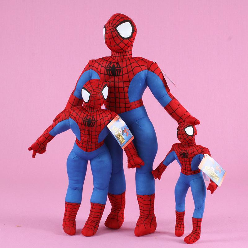 55cm 1pc de haute qualité New Hot Marvel Comics article Spider-Man Film souple Figure Farce Spiderman Cadeaux d'anniversaire Toy Doll