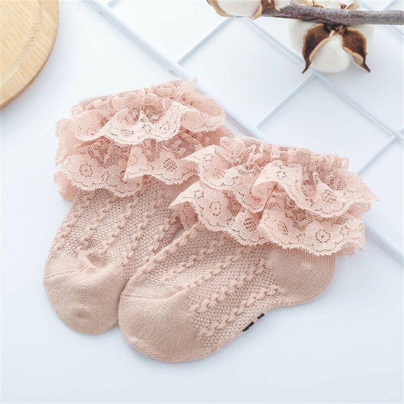 Soft Newborn Hosiery Baby Girls Leggings Kids Sock Toddler Ankle Bow Tutu Socks