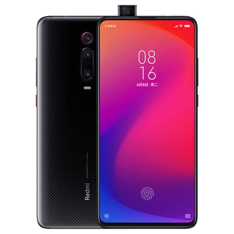 """الأصلي xiaomi redmi k20 برو 4 جرام lte الهاتف الخليوي 8GB RAM 128GB 256GB ROM Snapdragon 855 48MP AI NFC 4000MAH Android 6.39 """"ملء الشاشة بصمة بطاقة الهاتف المحمول الذكية"""