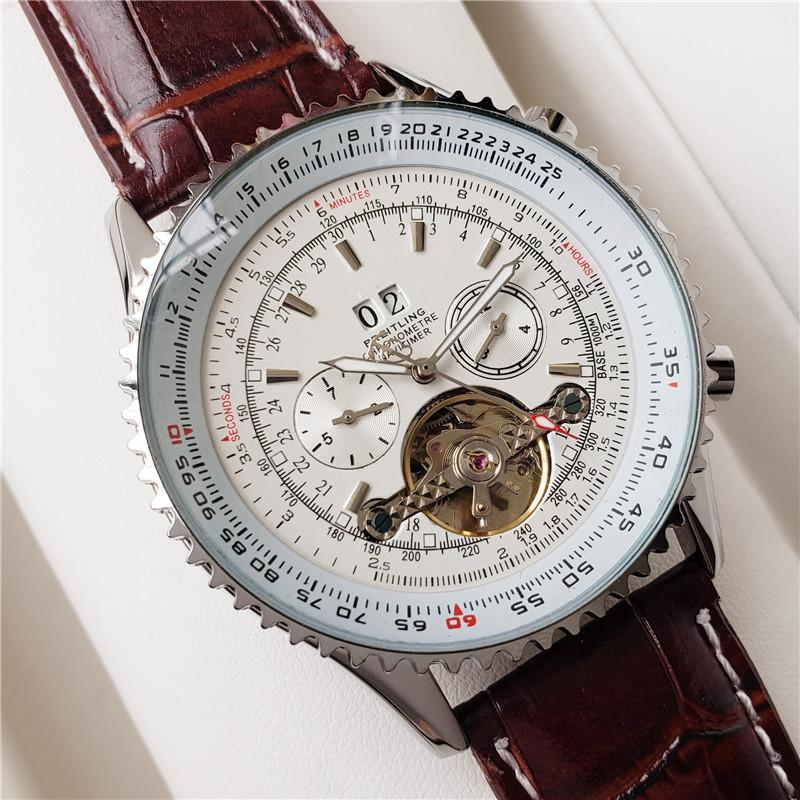 Keramik-Lünette 2813 Mechanische automatische Bewegung Mens SS-Mode-Uhr Sport Selbst Wind Designer Uhren Armbanduhr btime