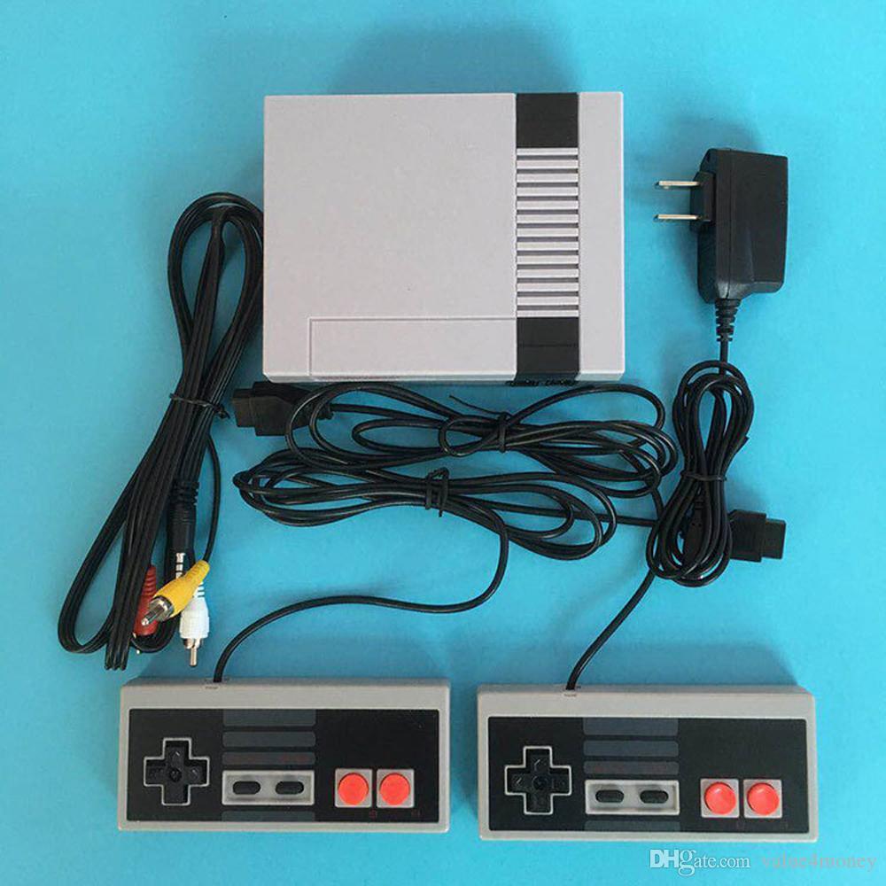 مصغرة لعبة فيديو وحدة التحكم المحمولة يمكن تخزين 620 ألعاب NES والتجزئة Boxs شحن مجاني