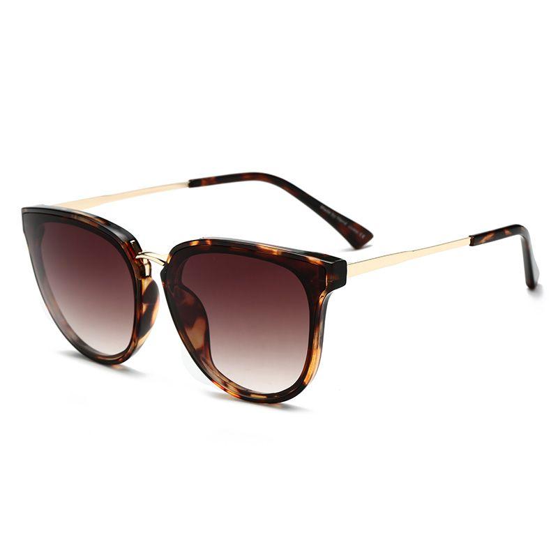 Gradient Color Sunglasses Women Popular Brand Designer Retro Men Summer Style Sun Glasses Colorful Coating Shades Pink Color
