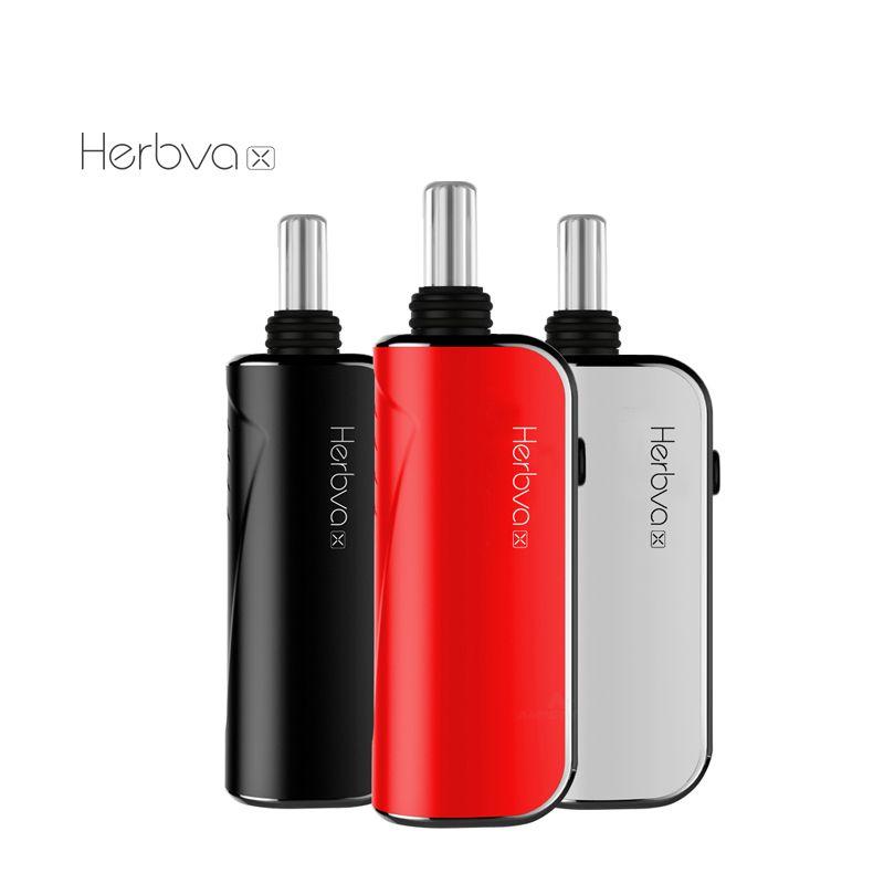 Sıcak% 100 Orijinal Airis Herbva X Kiti 1800mAh batarya 3'te 1 Kuru Ot Wax Kalın Yağ Vaporizer Vape Kalem Setleri satan