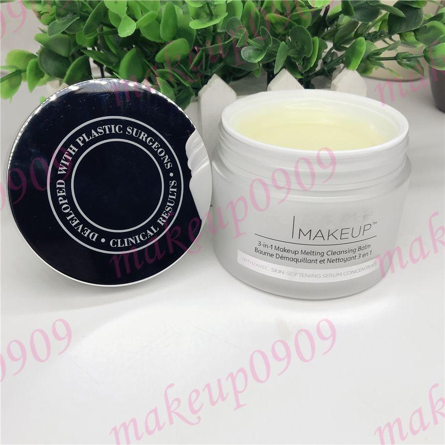 Drop shipping Makeup Remover bye makeup 3-in-1 balsamo detergente per il trucco da 80 g con concentrato di siero emolliente per la pelle 1 pz pacco ePacket