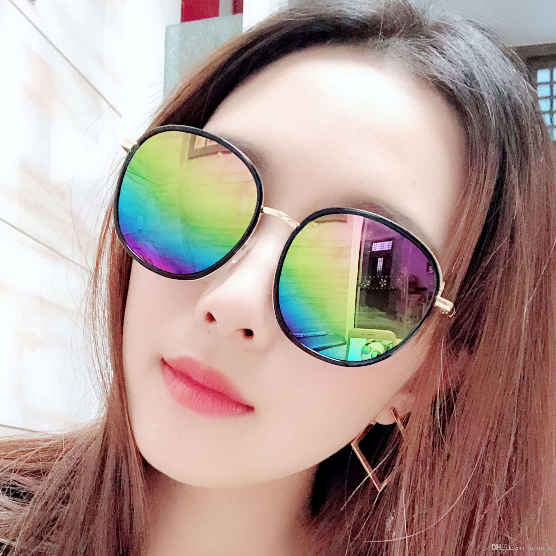 Lüks Kare Güneş Polarize Kadınlar Marka Tasarımcı Retro Sürüş Güneş Gözlükleri İçin Kadınlar Lady Erkekler Kadın Sunglass Ayna