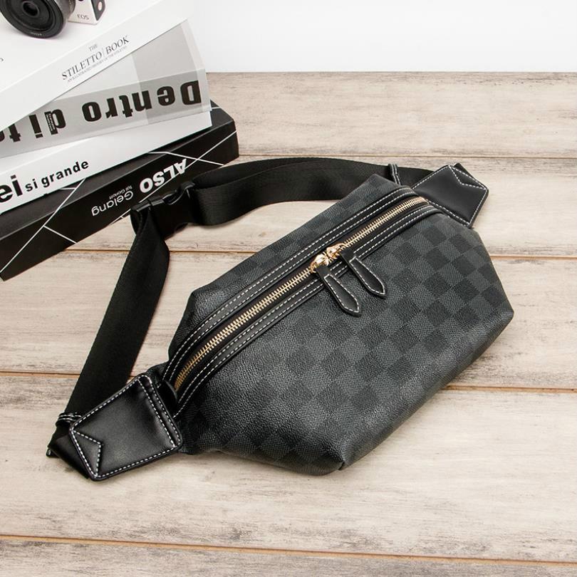 مصمم حقائب CROSSBODY لحقائب النساء أزياء رجالي مصمم حقيبة الخصر Bumbag السببية محفظة Fannypack الخصر # evs4