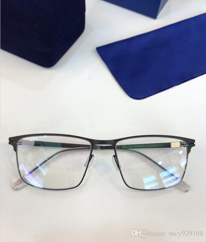 Nuevos marco de las lentes 157 vidrios del marco del tablón marco de la lente clara que restaura maneras antiguas Gafas de Grau hombres y mujeres ojo miopía marcos de los vidrios