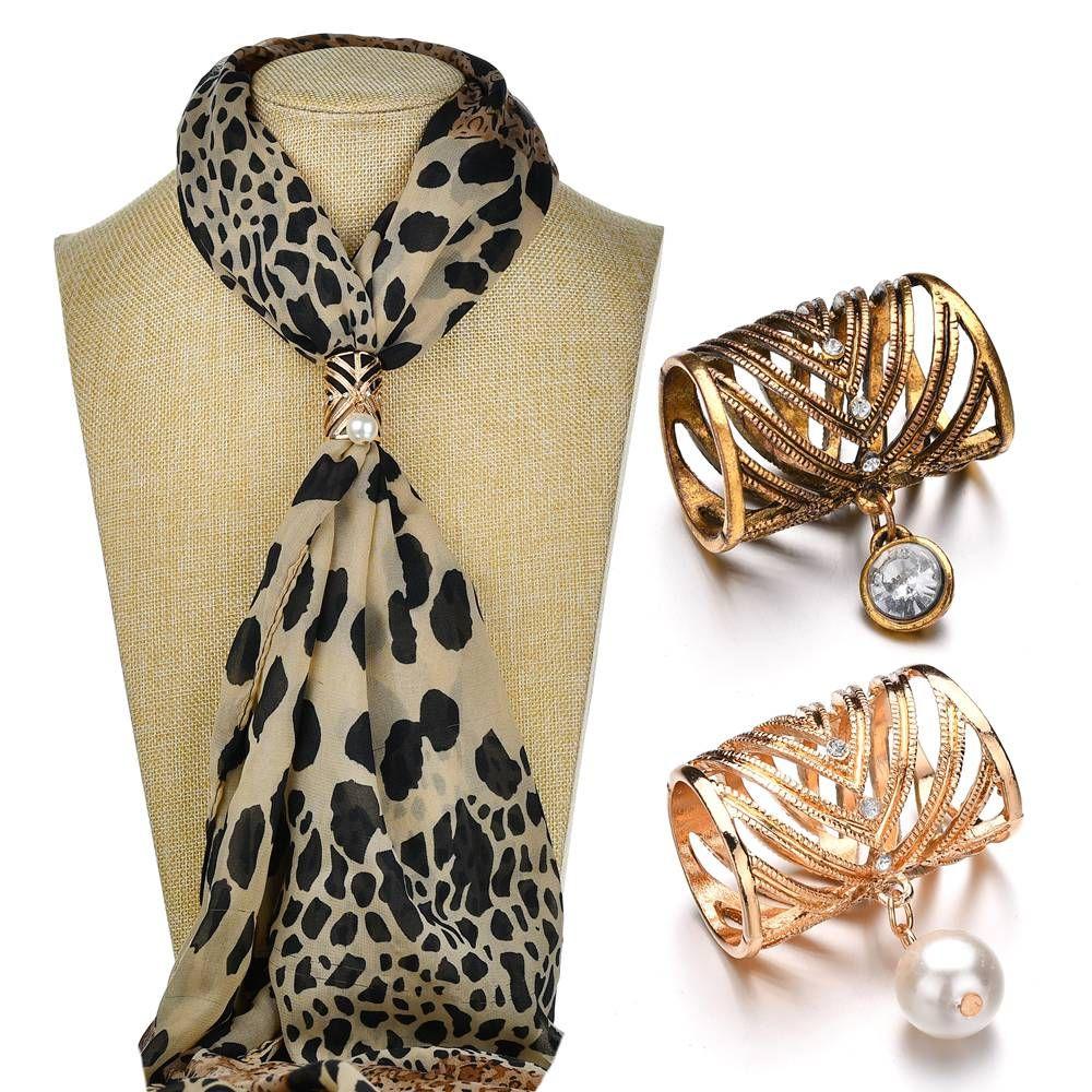 Мода женщин 3 цвета и 2 Стиль броши Имитация Pearl Hollow Camellia шали шарфы Пряжка Clips подарка ювелирных изделий b473
