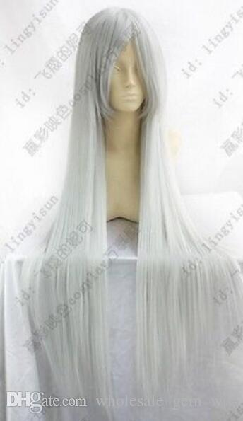 New Kung Fu Panda Lord Shen Silvery White Long 100 Cm Cosplay Party Wig Make Wigs Lace Caps For Wig Making From Wholesale Gem Wig 26 12 Dhgate Com
