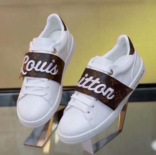 Barato al por mayor de cuero genuino zapatos abiertos modas de las mujeres blancas de diseño zapatos casuales para hombre negro de empalme 4 colores bajo-top de las zapatillas de deporte