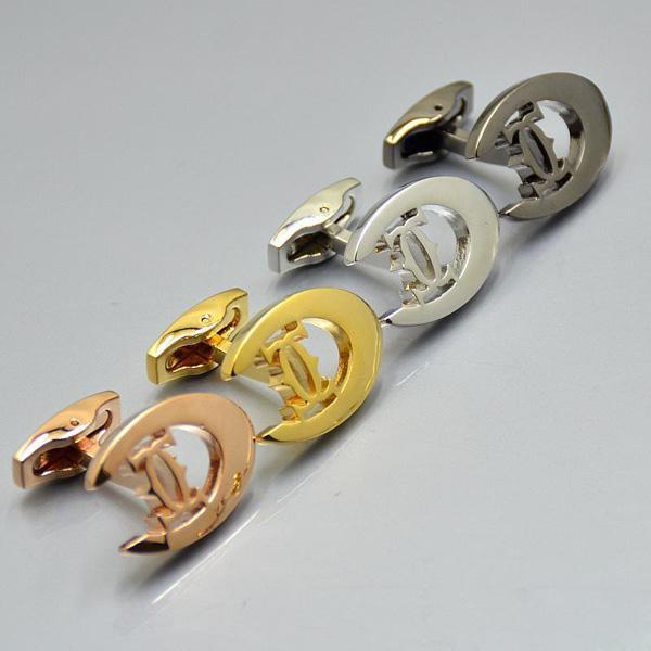 Poignets Design Unique Car Chemise Mendière Cufflink Business Bijoux de Prestige Bijoux de Prestige Copper Bouffets pour homme Cadeau (pas de boîte)