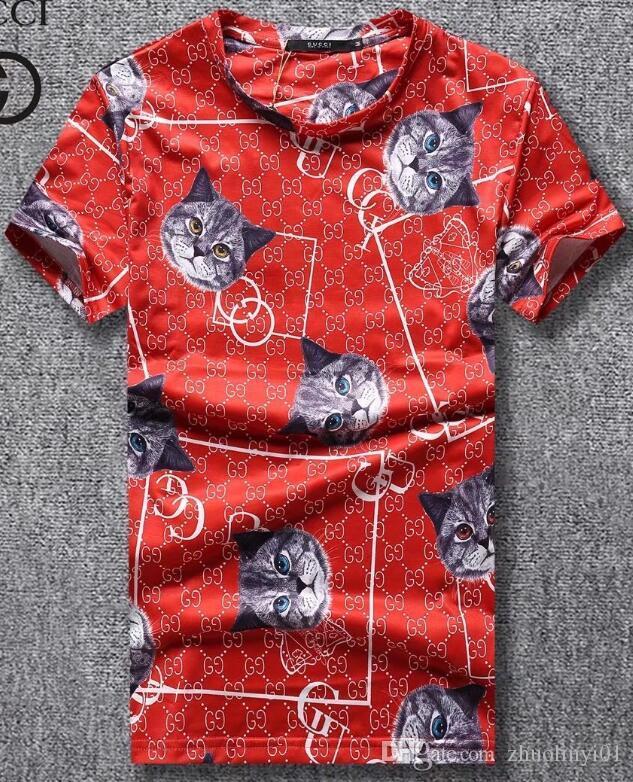 Compre Moda Popular Logo Pequeño Cuello Redondo Camiseta  Productos De  Algodón De Alta Calidad, Mano De Obra Flexible  La Última Tecnología De