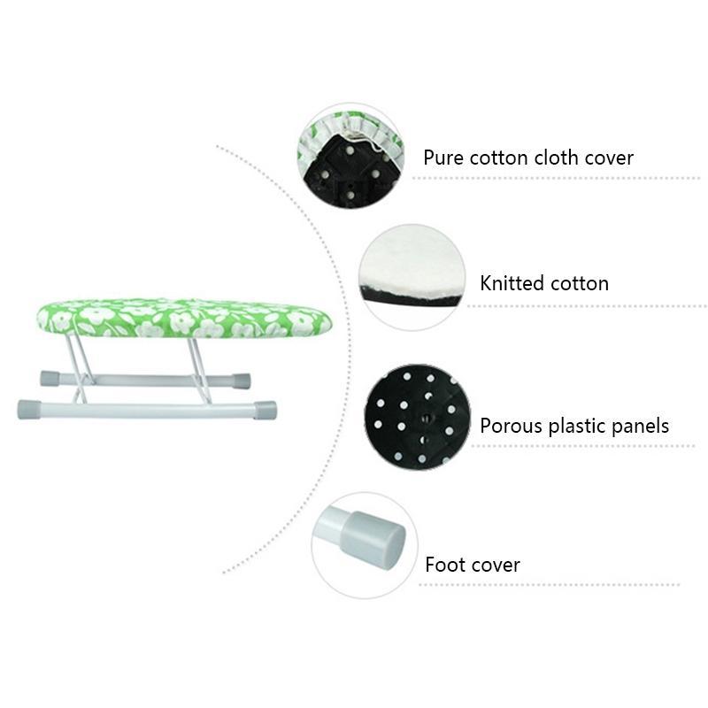 Nouvelle planche à repasser Accueil Voyage manches portable Mini Manchettes table avec pieds pliants Autres Produits pour la lessive