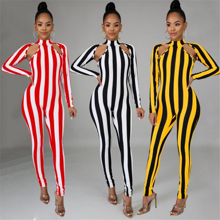 para mujer trajes de diseño de manga larga de los mamelucos del mono atractivo de la manera elegante delgada mono jersey cómodo clubwear atractivo muy hot3363