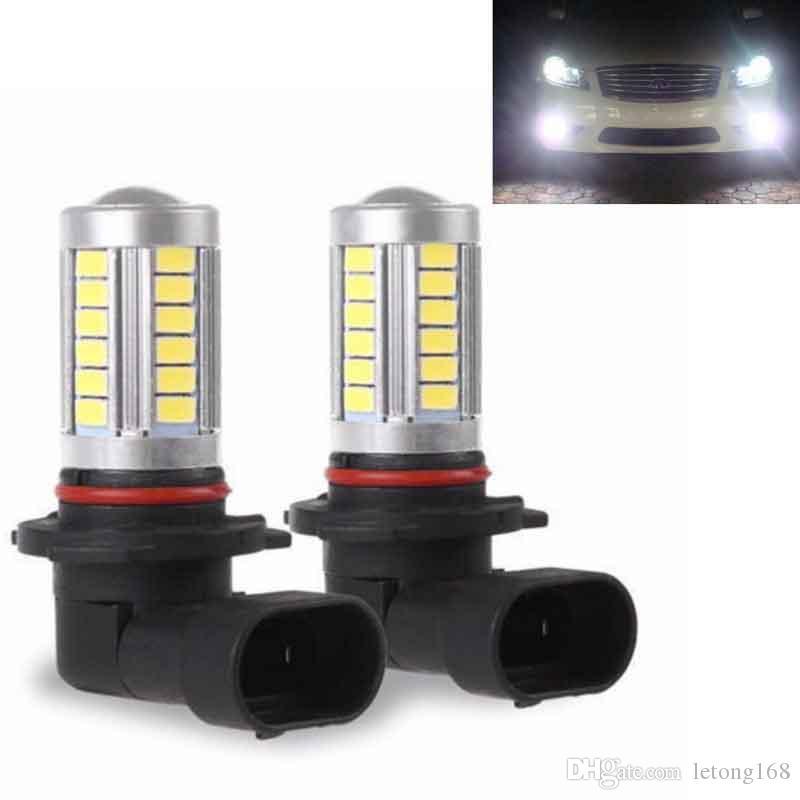 Car H11 a conduit 5630 33SMD LED brouillard Feux de circulation diurne Ampoule Turning Parking Ampoule DC12V