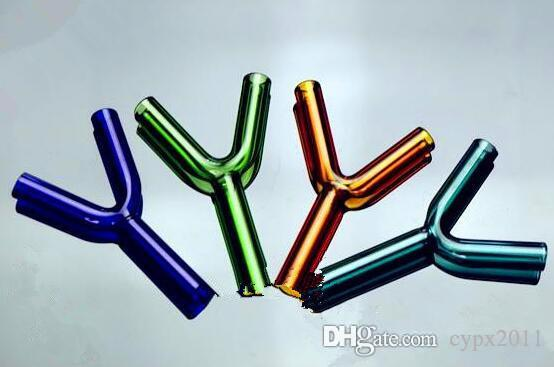 Accessoires bouteille double balle en gros verre narguilé, pipe à eau en verre Raccords, livraison gratuite