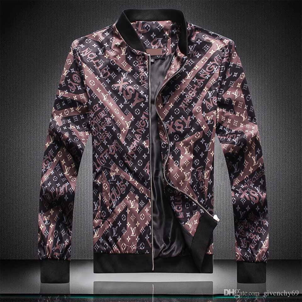 2019 Nuovo stile moda Designers uomini giacca invernale di lusso del cappotto di usura donne degli uomini manica lunga Outdoor Uomo Abbigliamento Donna Abbigliamento medusa Jac