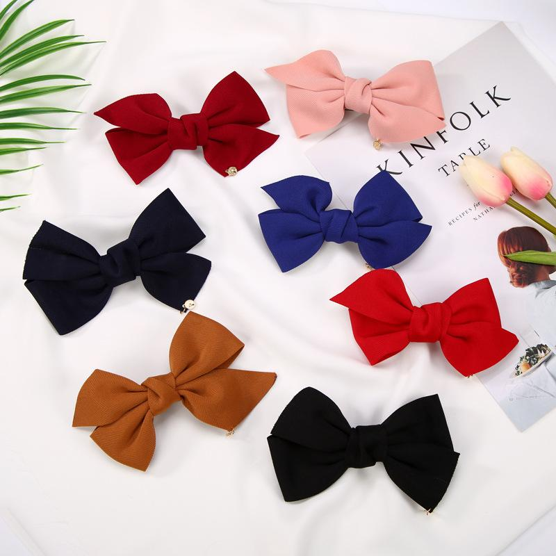 Hair bow Hot sale women hair accessories china supplier popular wholesale cheap butterfly hair clips graceful personalized custom