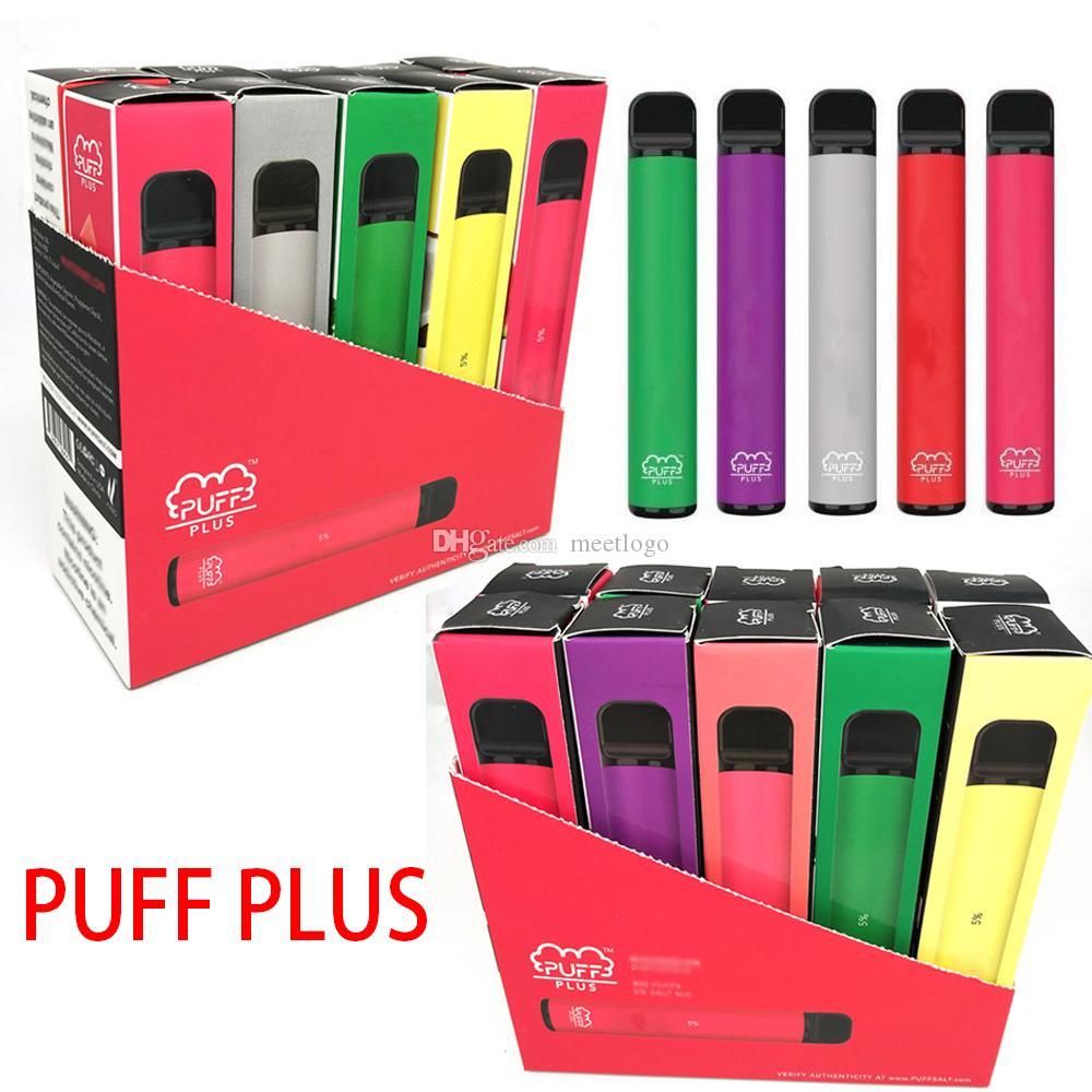 Hot Puff Plus Einweg-Pod-Geräte-Upgrade-Puffleiste 550mAh E-Zigaretten-Vape-Stift 800 Puffs 3.2ml Ecartridges Pod E Cigs-Kit